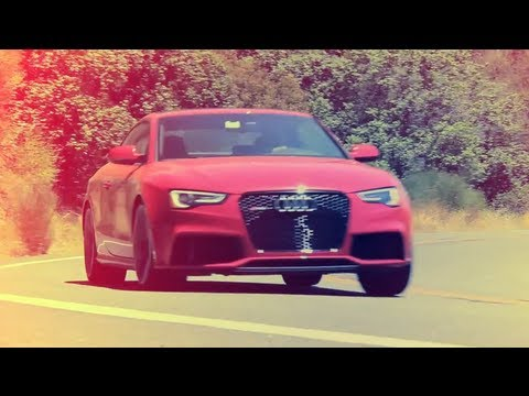 2013 Audi RS5 on Highway 33 - Road Test - CAR and DRIVER