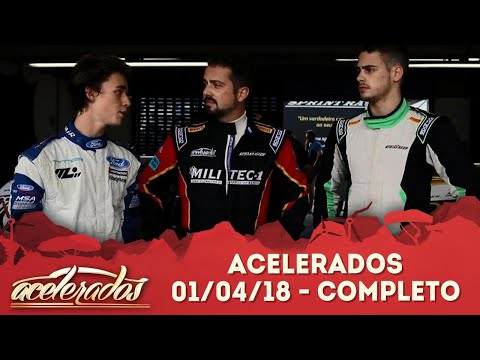 Acelerados (01/04/18) | Completo