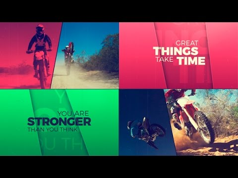 After Effects Template: Sport Life | Fast Dynamic Slideshow