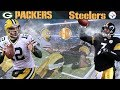 The Steel City Shootout! (Packers vs. Steelers, 2009) | NFL Vault Highlights