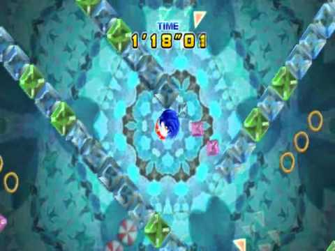 Sonic the Hedgehog 4(Ep.1) - All Special Stages for Chaos Emeralds