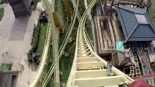 Battle of Jungle King, Tiger Train Onride Mounted Go Pro 1080P 60FPS POV Hefei Wanda Park