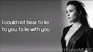 Demi Lovato - You Don't Do It For Me Anymore (Lyrics)