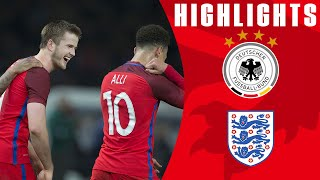 Germany 2-3 England | Goals & Highlights(Subscribe to FATV: http://bit.ly/FATVSub England came back from two goals down to record a fantastic result against the world champions Germany in Berlin., 2016-03-27T13:06:43.000Z)