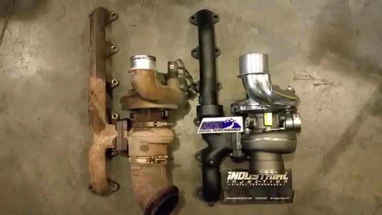 stock 3rd gen vs ats diesel exhaust manifold