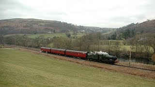 Llangollen Railway - Steel, Steam & Stars IV March 2015