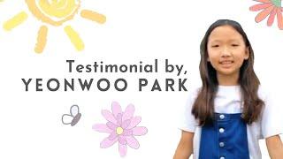 Yeonwoo's testimonial