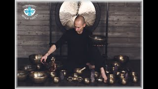 Набор тибетских поющих чаш - Непал. Поющие чаши для медитации и массажа.