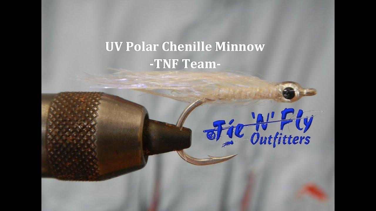 UV Polar Chenille fly tying