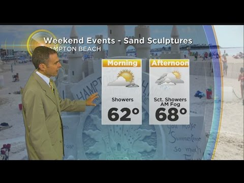 WBZ Morning Forecast For June 17