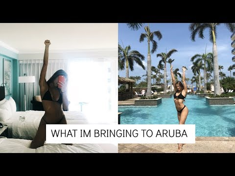 SKIPPING SCHOOL TO GO TO ARUBA | what i'm bringing!