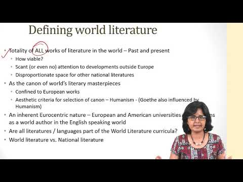 Reading World Literature