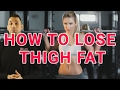 How to TRULY Lose Thigh Fat Fast | Do Exercises Reduce Hip size & burn leg fat overnight women & men