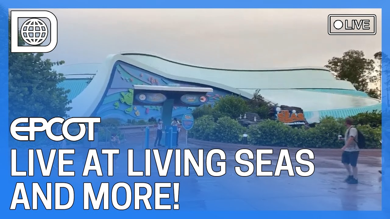 🔴 LIVE from EPCOT - NEMO!!!!