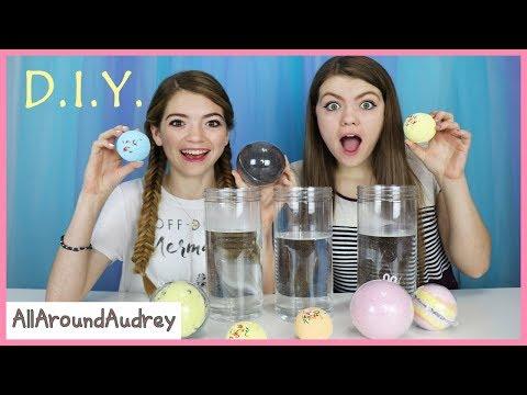 DIY Bath Bomb Challenge! / AllAroundAudrey