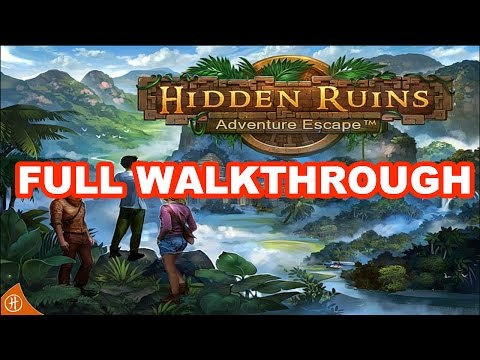 Adventure Escape Hidden Ruins - Full Walkthrough HD