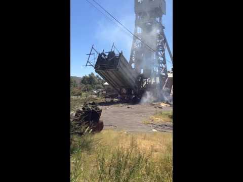 Headgear - De Beers Mine Kimberley