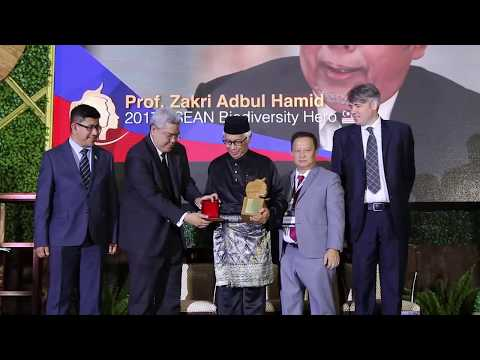 Prof. Zakri Abdul Hamid - ASEAN Biodiversity Hero & Influencer for Sustainability