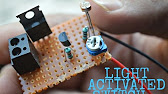 Light Activated Switch using LDR - YouTube
