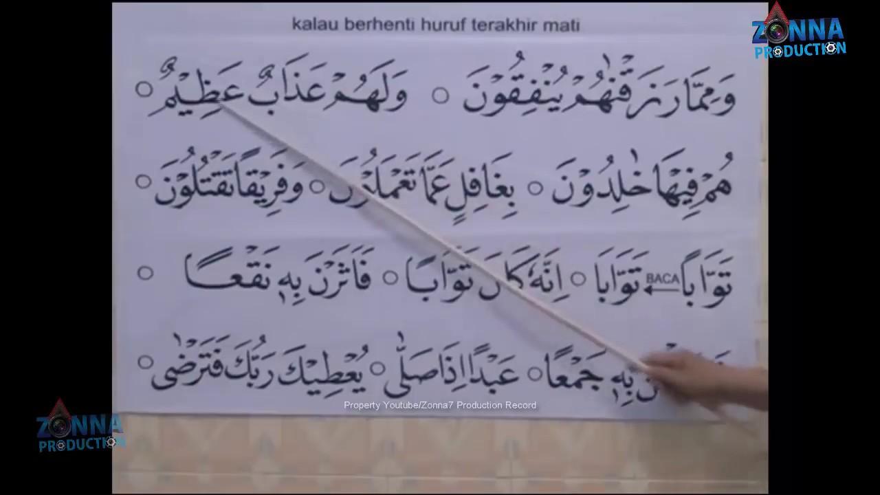 Cara Cepat Belajar Membaca Al Qur An Dengan Mudah Halaman