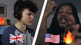 BRITISH KID reacts to AMERICAN DRILL part 3 (King Von, Wooski, FBG Duck, Fivio Foreign & more)