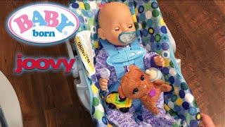 Baby Born Flynn's New Joovy Doll Car Seat