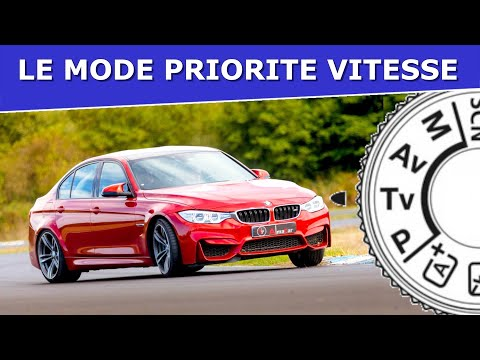 Le mode PRIORITE VITESSE🚀 en photographie
