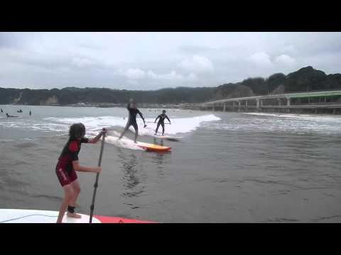 Surf SUP Malibu Point Katsuura Chiba Japan