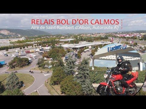 Relais Moto Calmos, Aire de St Rambert d'Albon Septembre 2017