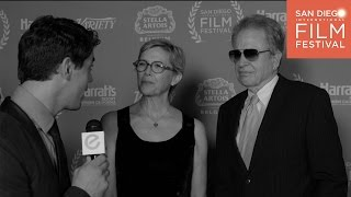 Thatsmye interviews Annette Bening & Warren Beatty at the 2016  San Diego Film Festival.