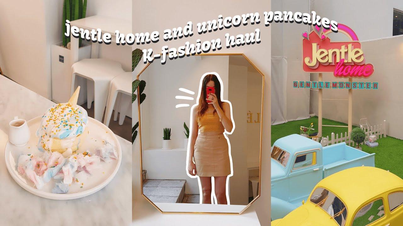 Jentle Home and Unicorn Pancakes 🦄 🕶 K-fashion Haul | Life in Korea Vlog