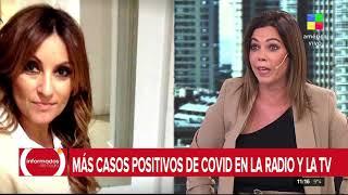 Marcela Tauro dió positivo de COVID-19
