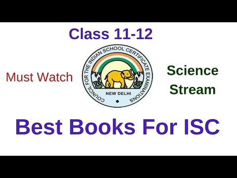 Best recommended Books for class 11-12 ISC||Science Stream