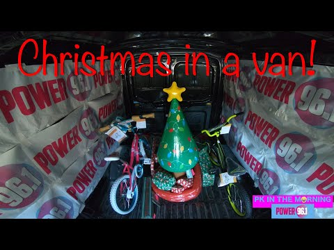 PK TV - We deliver 'Christmas in a van' to John and his kids!