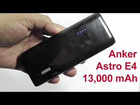 2014 Anker Astro E4 Portable Battery - New 13000mAh Unit In A Sleek Pocket Friendly Shape [Review]