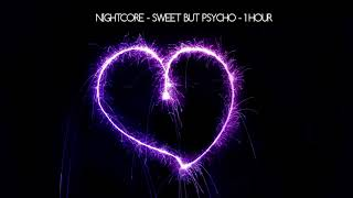 Nightcore - Sweet but Psycho - 1 Hour