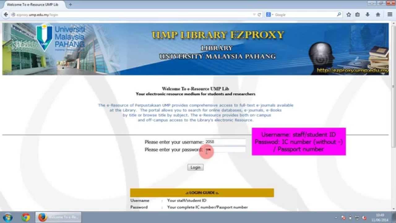 UMP Library - UMP Library