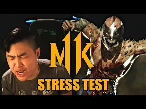 Mortal Kombat 11 - Trying Out The MK11 Online Stress Test!! thumbnail