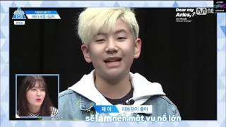 [Vietsub | Live] [Dear My Aries] Fight Song - Lee Woo Jin (이우진) @ Mnet Produce 101 ep 0