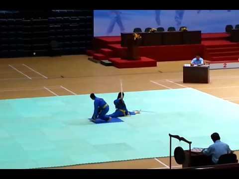 Giải Vovinam Toàn Quốc 2013 - Song luyện kiếm - Vũng Tàu