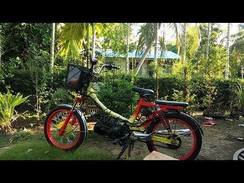 Modifikasi Motor Bebek Jadi Sepeda Ontel Arena Modifikasi