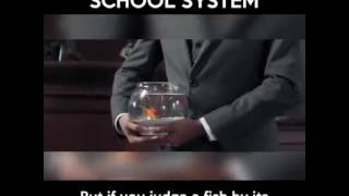 Inspirational video what should be the education system