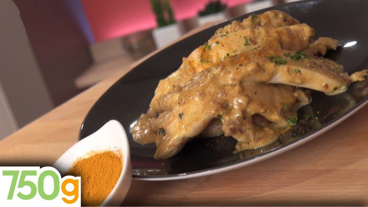 recette de poulet au curry express - 750 grammes - youtube