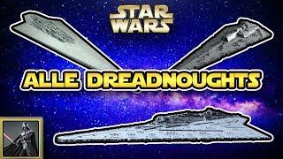 Star Wars: Alle Dreadnoughts des Imperiums [Legends]