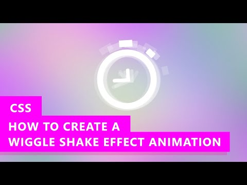 How to Create Shake or Wiggle Effect with CSS Animation