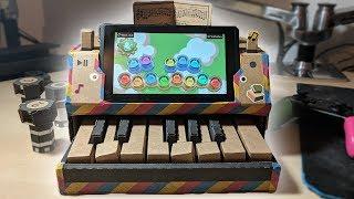 Ich bastel ein Piano | Nintendo Labo  「Fast Daily Vlog」