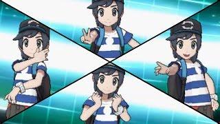 Pokemon Sun & Moon - All Battle Styles (Poses & Ball Throw Animations)