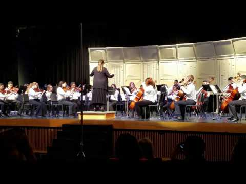 2017 Aragon Middle School Symphony Orchestra UIL Competion Sweepstakes Performance!! Pavane