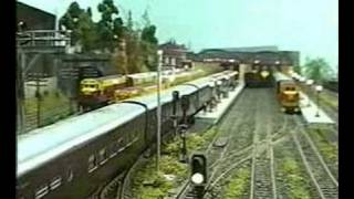 Maqueta trenes HO - Ferrocarriles Argentinos