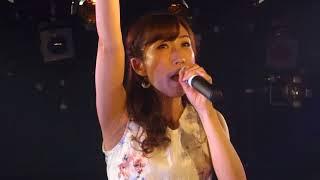 角田睦美。「Girls」(西野カナ)、心斎橋FANJ、18.06.14